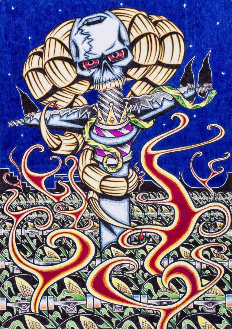 Skatecrow by Shayne Hawkes